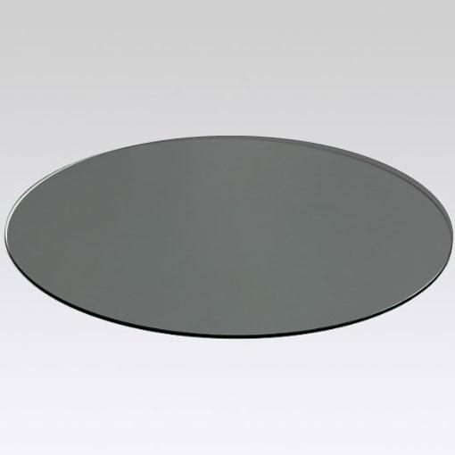 Cristal tapa de mesa gris