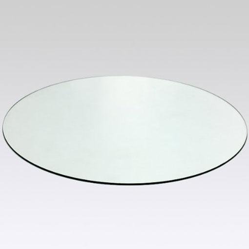 cristal circular para mesa