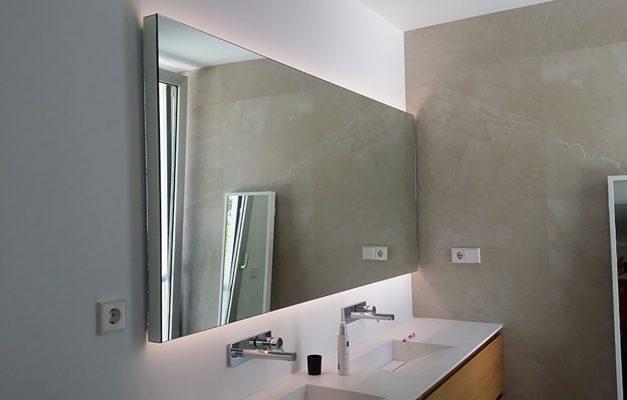 Espejo de baño con leds