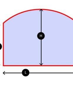 Cristal Chimene Curva Superior