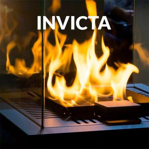Cristal Chimenea Invicta